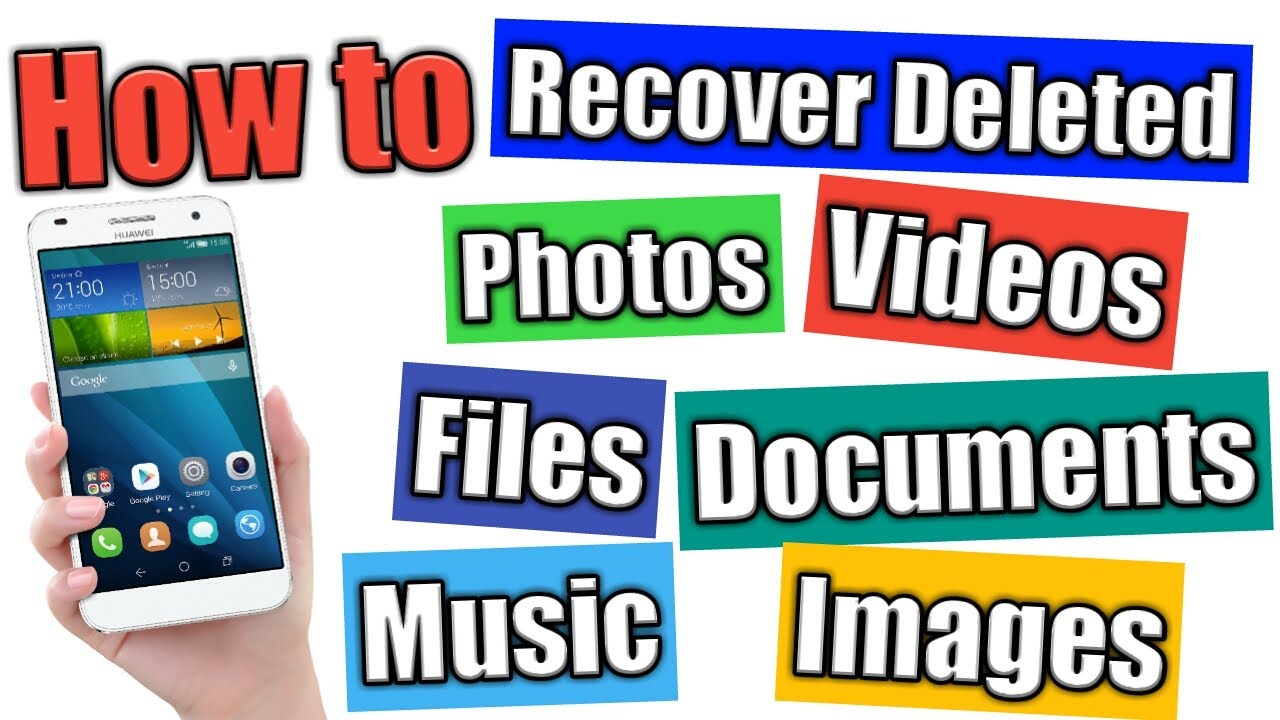 Download How to Recover Deleted Data, Images, Video, Music, Photos & Documents files in Android Phone