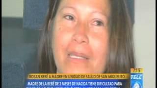 Roban bebé en unidad de Salud de San Miguelito