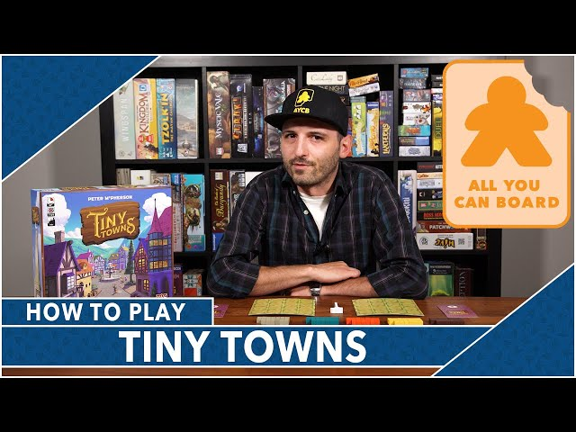 Tiny Towns: How to Play by AYCB