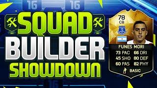 FIFA 16 SQUAD BUILDER SHOWDOWN!!! THE BEST DEFENDER ON FIFA 16!!! IF Funes Mori Squad Duel