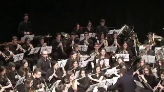 Banda GP Conservatori Tortosa - Danza Sinfónica (James Barnes) (HD)