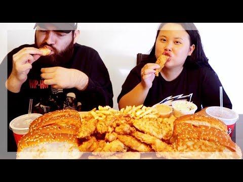 MUKBANG RAISING CANE'S CHICKEN 먹방 (EATING SHOW!)
