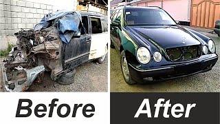 Car repair. Car recovery after crash. Ремонт машин. Восстановление машин после аварии.