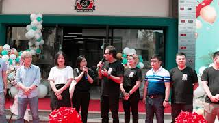 Inauguração Unidade Yangzhou - China (Parceria Music Miles e Bateras Beat Music School)