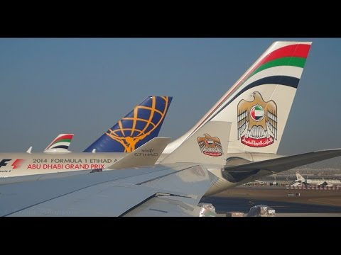 Etihad Airways - Airbus A330-200 - Departure From Abu Dhabi International Airport