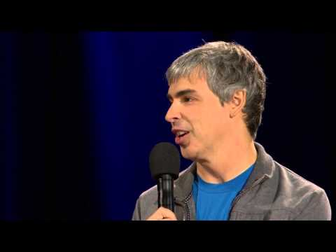 Larry Page TED talk: Where's Google going next