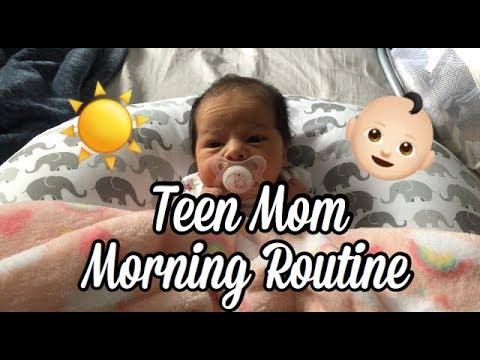 Teen Moms and Breastfeeding Their Newborn