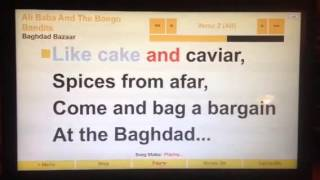 """Baghdad Bazaar"" Ali Baba And The Bongo Bandits Sing Along"