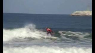 World Surf 2010: Cutback for re-entry of Tanner Gudauskas (USA)