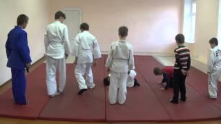 31.10.15. Открытое занятие по дзюдо: укеми в парах. Centre Judo Kids. Feodosiya