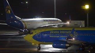 Ukraine und Russland setzen gegenseitige Sanktionen gegen Fluglinien um
