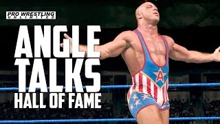 Gambar cover Kurt Angle Talk WWE Hall Of Fame, When He Found Out & Going Back To The WWE
