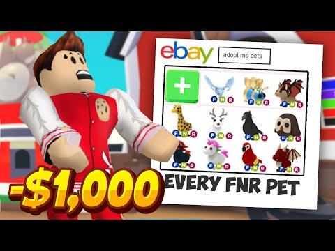 I Got Scammed 1000 For Adopt Me Pets On Ebay Roblox Adopt Me Pets Exposing A Scammer Youtube