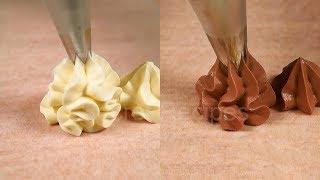 Классический крем Дипломат: ванильный и шоколадный | Cream diplomat