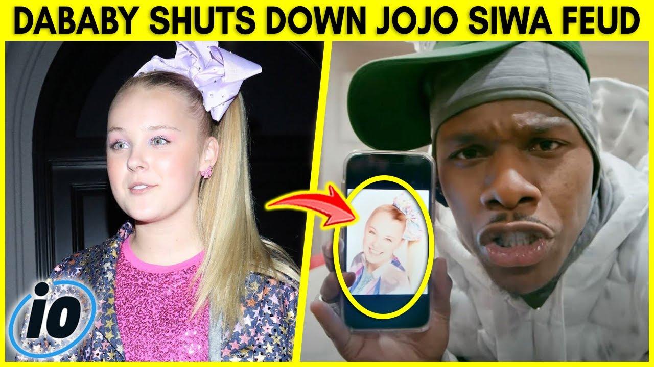 DaBaby Shuts Down JoJo Siwa Feud After This