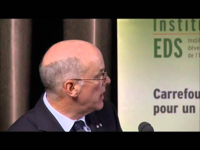 Louis Fortier - Changements climatiques et biodiversité en Arctique (1/4)