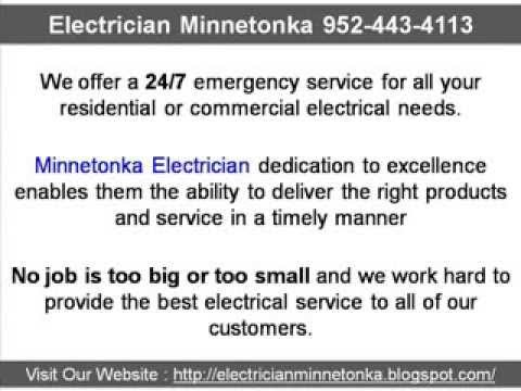 Electrician Minnetonka 952-443-4113