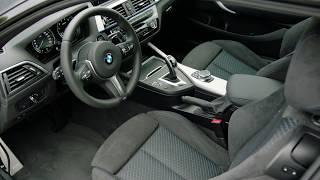 2018 BMW M240i Coupe interior design