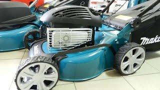 Обзор Бензиновая газонокосилка Makita PLM4110(Газонокосилка бензиновая Makita PLM4110 К вашему вниманию представлен инновационный продукт от произв..., 2015-05-22T09:49:52.000Z)