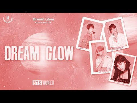 AZE BTS  - Dream Glow ft Charli XCX Color codedHanRomAZE