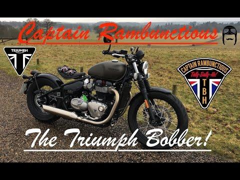 The Triumph Bonneville Bobber