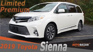 2019 Toyota Sienna Limited Premium AWD. Добавили в минивэн аксессуаров. Видео обзор на русском