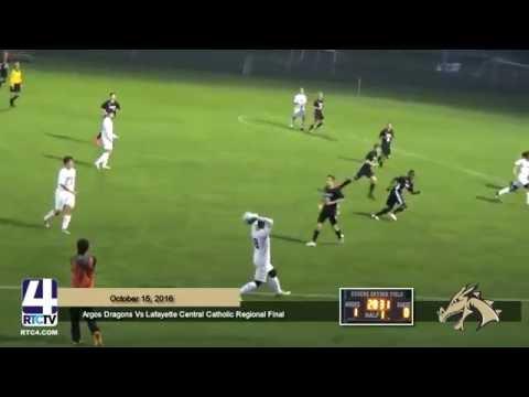 Argos Boys Soccer vs Lafayette Central Catholic Regional Championship