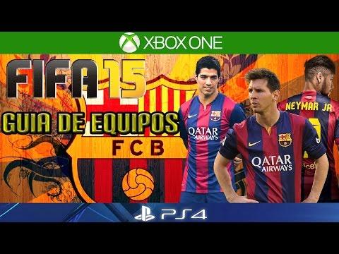 FIFA 15 | COMO JUGAR CON EL BARCELONA | Guía de Equipos | Formación/Jugadores Importantes/Gameplay