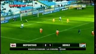 Deportivo la Coruña 2-1 Xerez  - Fecha 23 Liga BBVA