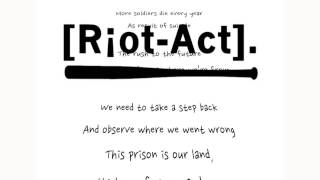 Riot-Act. - Reprisal feat. Josh Franklin
