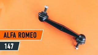 Come sostituire biellette barra stabilizzatrice della parte posteriore su ALFA ROMEO 147 [AUTODOC]