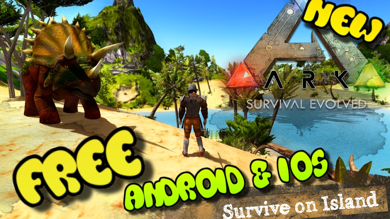 ARK: Survival Evolved Mobile - ВЫШЛА! 100% ПОРТ …