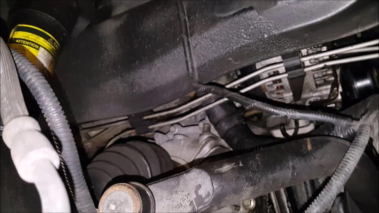 Cadillac Srx 4 6l Motor Mounts Youtube