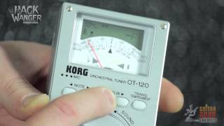 Players Planet Product Overview KORG OT-120 Orchestral Instrument Tuner