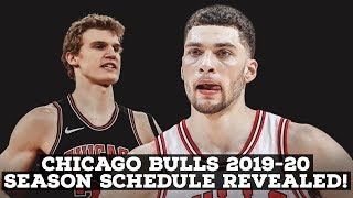 Chicago Bulls 2019-20 Official Schedule Released!