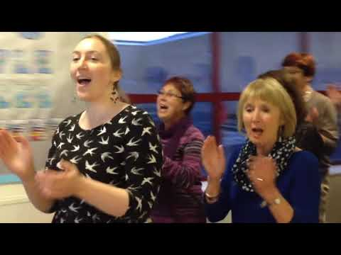 Blowin' In The Wind: a choir rehearsal evening