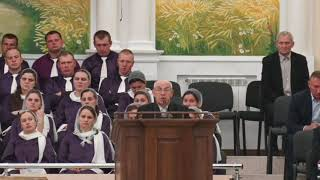 02.05.2021 Праздничное Пасхальное служение  2-й поток