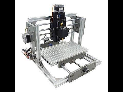 mini CNC 2417 + DREMEL -  ENG subs