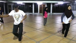 zapin ya salam training session