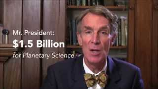 Stand With Bill Nye for Planetary Exploration!