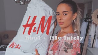 H&M HAUL + TRY ON + LIFE LATELY | Hello October