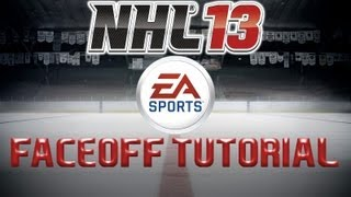 NHL 13 Faceoff Tutorial