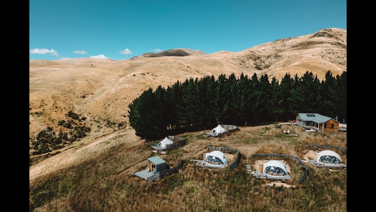 GLAMPING in New Zealand - Valley View Glamping