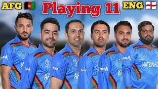 ICC World Cup 2019 : Afghanistan vs England Playing 11 | Weather Reports |