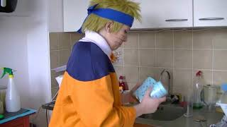 Naruto and Sasuke taking care of Sakura
