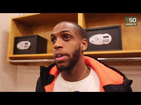 Khris Middleton Postgame Interview / Bucks vs Sixers / Jan 20