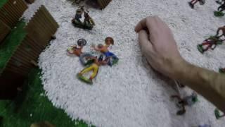 Мультик год про Солдатики игрушки игр как мультики большая война где много солдатиков Форт Техас 161
