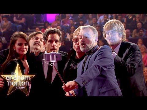 Ben Stiller And Penelope Cruz Take A Celebrity Selfie - The Graham Norton Show