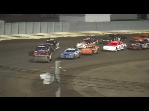 2017 Shiverfest Stock Car feature Lee County Speedway 10/28/17