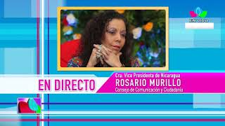 Comunicación con la Vicepresidenta Compañera Rosario Murillo, 16 de Abril de 2019